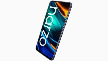 Realme Narzo 20 Smartphone's 1.3 Lakh Units Sold Online During the First Sale in India