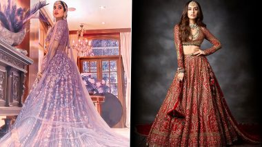 Fashion Faceoff: Janhvi Kapoor in Manish Malhotra or Shraddha Kapoor in Falguni & Shane Peacock - Whose Bridal Avatar Will You Like to Imitate?