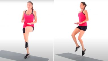 Weight Loss Tip of the Week: How High Knees Exercise Can Help You Lose Body Fat (Watch Video)