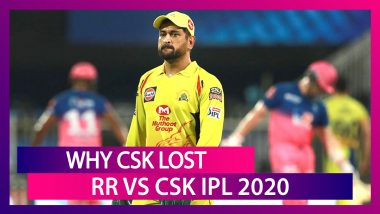 Rajasthan vs Chennai IPL 2020: 3 Reasons Why Chennai Lost To Rajasthan