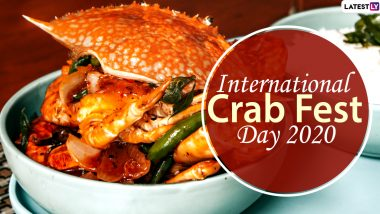 International Crab Fest Day 2020: From Indian Crab Curry to Singaporean Chilli Crab, Here Are 5 Tastiest Seafood Recipes That You Must Try Once!