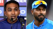 Hardik Pandya Looks Great in Nets Post Injury Layoff, Says Mumbai Indians Head Coach Mahela Jayawardene Ahead of MI vs CSK, IPL 2020 (Watch Video)