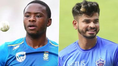 Shreyas Iyer, Kagiso Rabada Win 'Football Bin Challenge' During Delhi Capitals Training Session Ahead of DC vs KXIP, IPL 2020 (Watch Video)