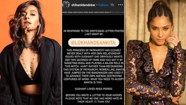 Shibani Dandekar Lashes Out At Ankita Lokhande, Says 'No One Has More Hate In Their Heart Than You' (View Post)