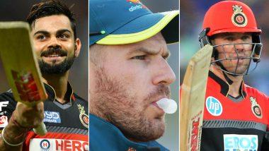 Virat Kohli, Aaron Finch, AB de Villiers & Other Royal Challengers Bangalore Players Speak Ahead of SRH vs RCB, IPL 2020 (Watch Video)