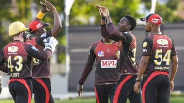 CPL 2020 Semi-Final Live Streaming Online on FanCode, Trinbago Knight Riders vs Jamaica Tallawahs: Watch Free Live TV Telecast of Caribbean Premier League T20 Cricket Match on Star Sports in India