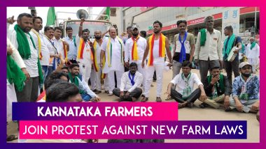 Karnataka Farmers Join Protest, Block Roads In Bengaluru; Congress MP From Kerala TN Prathapan Goes To Supreme Court Against New Farm Laws