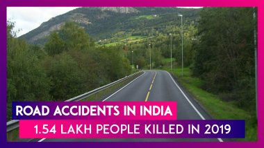 Road Accidents Killed 1.54 Lakh People In India In 2019: National Crime Records Bureau (NCRB) Data