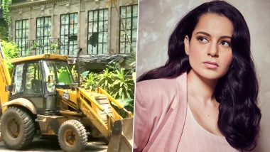 Kangana Ranaut vs Shiv Sena: Actress' Lawyer Files a Plea in Bombay HC Against BMC's Demolition of Her Office, Hearing at 12.30 PM Today