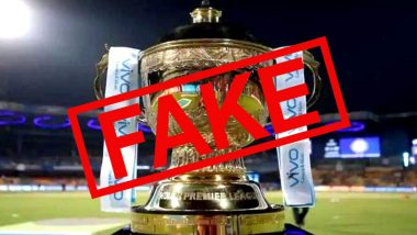Ipl 2020 Schedule For Pdf Download With Match Fixtures And Timings In Ist Goes Viral Ahead Of Official Announcement Here S Fact Check On Fake Uae Time Table Latestly