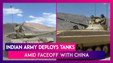 Indian Army Deploys T90 & T72 Tanks, BMP-2 Infantry Combat Vehicles Which Can Operate At -40°C Amid Faceoff With China