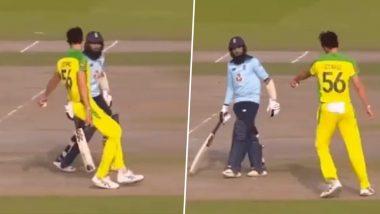 Mitchell Starc Teases Adil Rashid With 'Mankading' Attempt During England vs Australia, 3rd ODI 2020 (Watch Video)