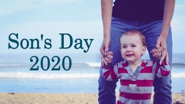 Son's Day 2020 Date in India & Around the World: Know When & How National Sons' Day is Celebrated