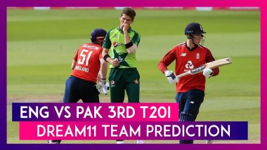 England vs Pakistan Dream11 Team Prediction, 3rd T20I 2020: Tips To Pick Best Playing XI