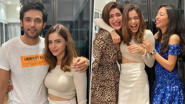 Aamna Sharif Shares Pics with Co-Stars Parth Samthaan and Karishma Tanna, Says 'Characters We Play Are Temporary but Relationships We Make Are Permanent' (View Pics)