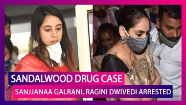 Sandalwood Drug Case: Kannada Actors Ragini Dwivedi, Sanjjanaa Galrani Arrested; Everything You Need To Know