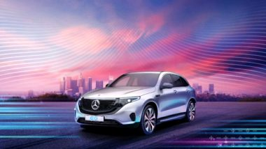 Mercedes-Benz EQC Electric SUV To Be Launched in India on October 8, 2020