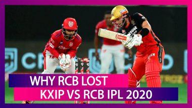 Punjab vs Bangalore IPL 2020: 3 Reasons Why Bangalore Lost To Punjab