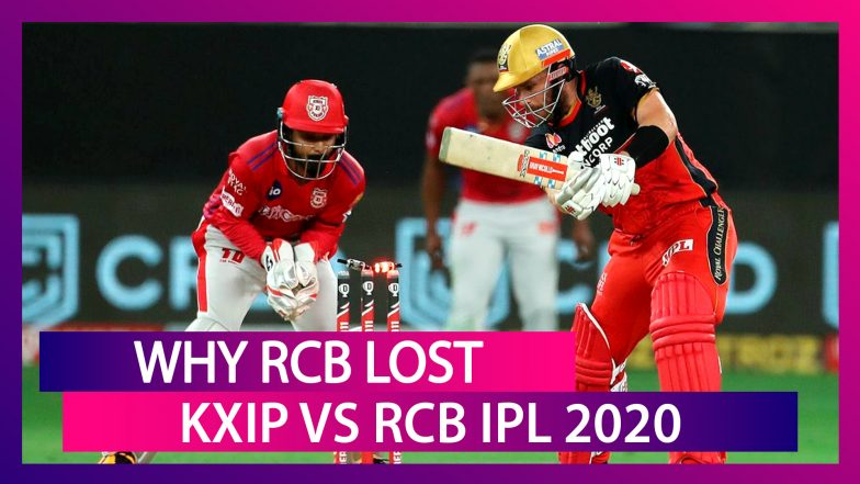 Punjab vs Bangalore IPL 2020: 3 Reasons Why Bangalore Lost To Punjab