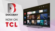 DocuBay Partners With TCL Electronics to Offer Premium Library of Documentaries