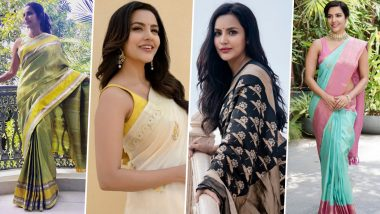 Priya Anand Birthday Special: 7 Times She Weaved Magic with Her Love for Sarees (View Pics)
