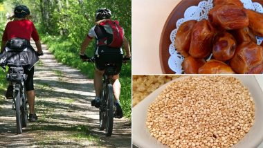 Foods For Cyclists: From Quinoa to Dates, Here Are Five Foods to Have Regularly For Cycling Exercises to Avoid Nutritional Deficiency