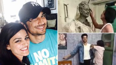 Sushant Singh Rajput's Sister Shweta Singh Kirti Shares Video of the Making of Late Actor's Wax Statue by Sukanto Roy (Watch Video)