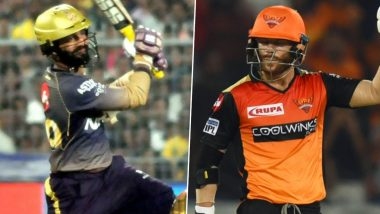 Kolkata Knight Riders vs Sunrisers Hyderabad, IPL 2020 Toss Report and Playing XI Update: Mohammad Nabi Comes in For SRH As David Warner Opts to Bat