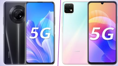 Huawei Enjoy 20 Plus, Enjoy 20 5G Smartphones With MediaTek Dimensity 720 SoC Launched; Prices, Features & Specifications
