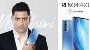 Oppo Reno 4 Pro MS Dhoni Edition With Galactic Blue Colour Launched in India