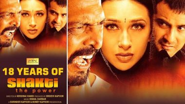 Shakti Completes 18 Years: Karisma Kapoor Reminisces Filming for Her Favourite Actress Sridevi's First Production (View Post)
