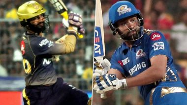 Kolkata Knight Riders vs Mumbai Indians, IPL 2020 Toss Report and Playing XI Update: MI Remain Unchanged As KKR Opt to Field First