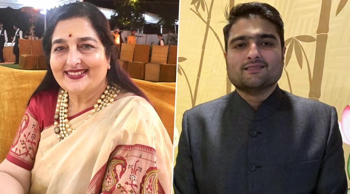 anuradha and her son aaditya