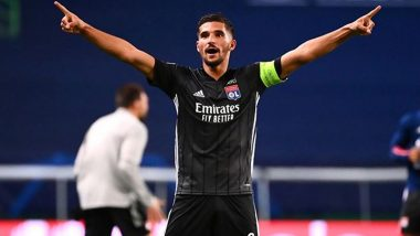 Houssem Aouar Transfer News Latest Update: PSG Rival Arsenal For Lyon Midfielder