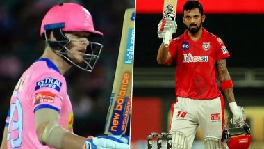 Rajasthan Royals vs Kings XI Punjab, IPL 2020 Toss Report and Playing XI Update: Jos Buttler Comes in For RR As Steve Smith Opts to Bowl