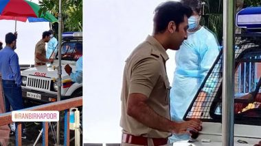 Ranbir Kapoor's Pic Shooting On A Set Dressed In A Police Uniform Goes Viral, Fans Curious To Know About This New Project