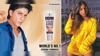 Suhana Khan Is Reminded of Her Dad Shah Rukh Khan's Fairness Cream Ads by Twitterati,  After Her 'End Colourism' Post Goes Viral!
