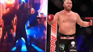 Russian MMA Fighter Sergei Kharitonov Walks Out With a Bear on Boxing Debut, Defeats Mike Tyson's Nemesis Danny Williams (Watch Video)