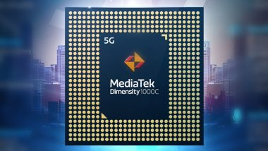 MediaTek Dimensity 1000C Chipset Unveiled for 5G Smartphones