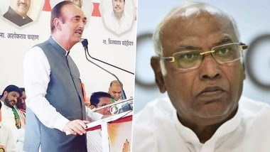 Congress Drops Ghulam Nabi Azad, Mallikarjun Kharge From List of General Secretaries, Makes New Appointments