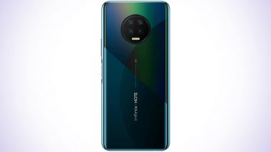 Infinix Note 7 With MediaTek Helio G70 SoC Launched in India at Rs 11,499; Features, Variants & Specifications