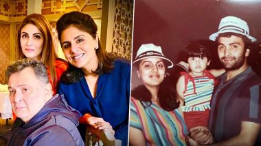 Rishi Kapoor Birth Anniversary: Riddhima Kapoor Sahni Remembers Late Father In A Moving Post, Says 'I Miss You Each Day & Will Always Love You'