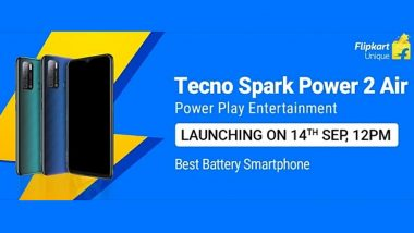 Tecno To Launch Spark Power 2 Air Smartphone In India on September 14; Expected Prices, Features & Specifications