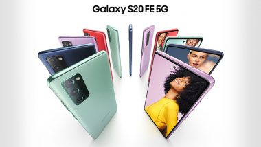Samsung Galaxy S20 Fan Edition Launched at $699, Check Online Sale, Features, Variants & Specifications