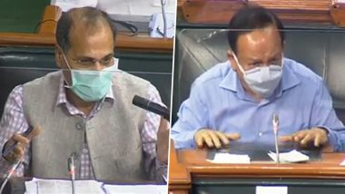 PM-CARES Fund Row Raised in Lok Sabha: Adhir Chowdhury Asks 'How Much Fund Health Ministry Received?' Harsh Vardhan Responds