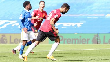EPL 2020-21: Bruno Fernandes' 100th Minute Penalty Helps Manchester United Beat Brighton, Fans Slam VAR For Favouring Red Devils