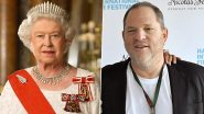 Harvey Weinstein, Disgraced Hollywood Director Stripped Of U.K Honour By Queen Elizabeth II