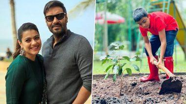 Ajay Devgn and Kajol's Son Yug's 10th Birthday Is a 'Green' Affair! (View Pic)