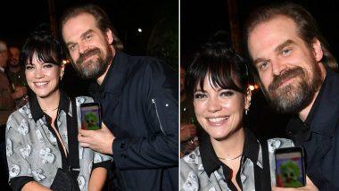 David Harbour Gets Secretly Married to Lily Allen in Las Vegas