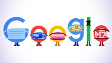 COVID-19 Prevention Google Doodle: Wear a Mask, Save Lives, Search Engine Giant Reminds Us of the Importance of Masks and Social Distancing amid the Coronavirus Pandemic